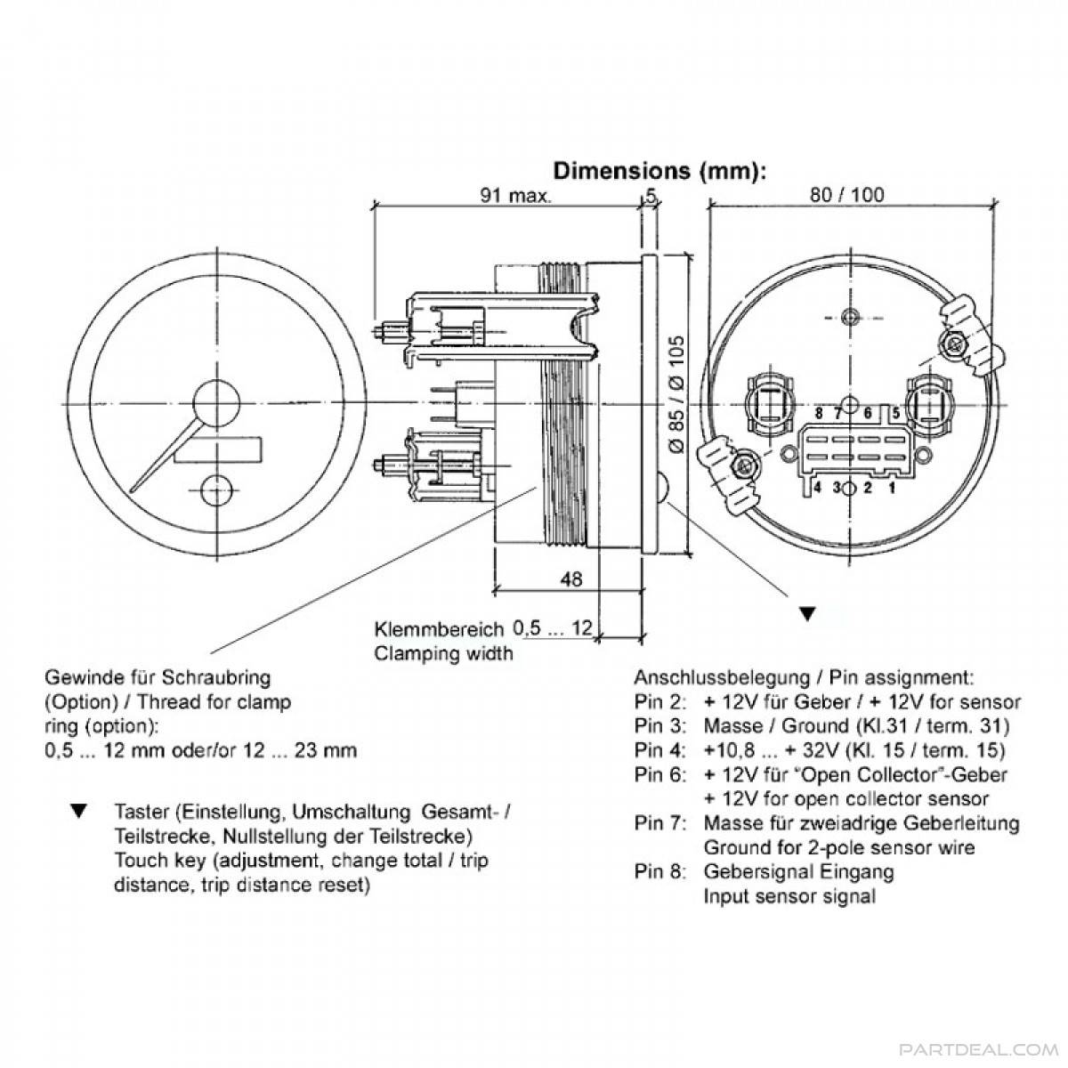 vw vdo tach wiring diagram wx 1811  super tach 2 wiring diagram on vdo oil pressure gauge  super tach 2 wiring diagram on vdo oil
