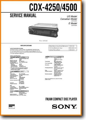 sc0954 sony cdx 4250 wiring diagram wiring diagram