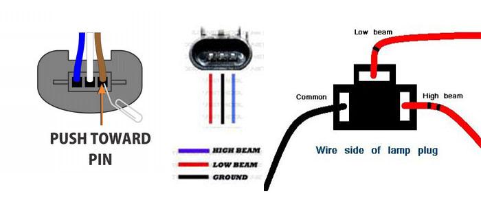 Ln 0214  Headlight Connector Wiring Diagram Free Diagram