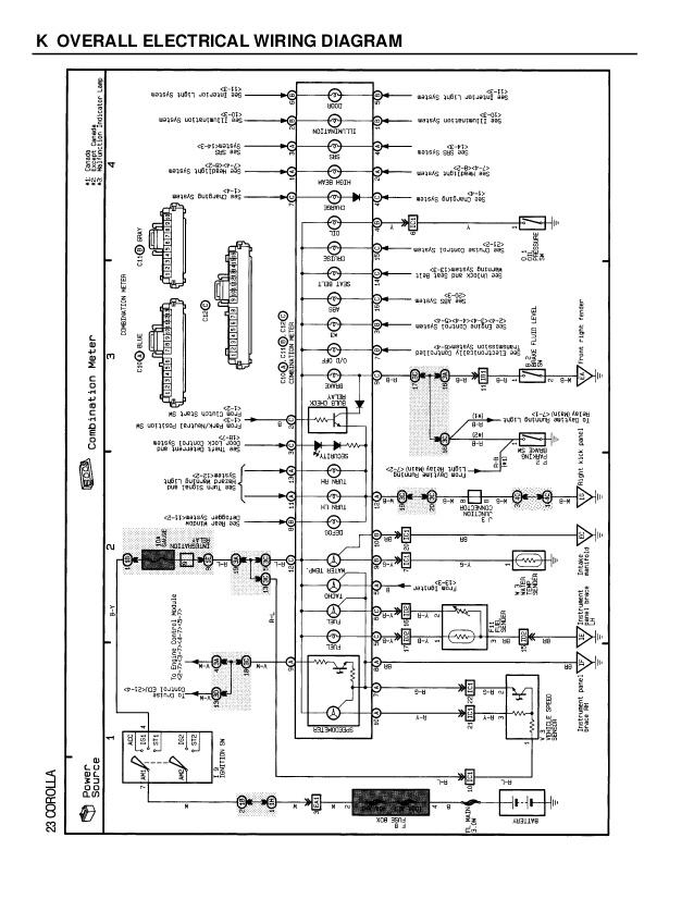1996 Toyota Corolla Fuel Pump Wiring Diagram - Wiring Diagram