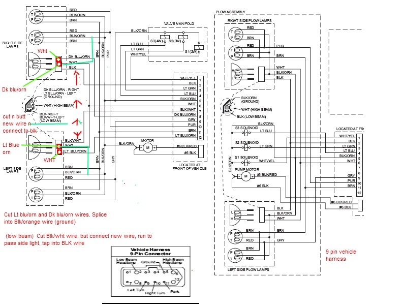 Miraculous Can 9Pin Harness Be Connected To 12Pin Plowsite Wiring Cloud Rdonaheevemohammedshrineorg