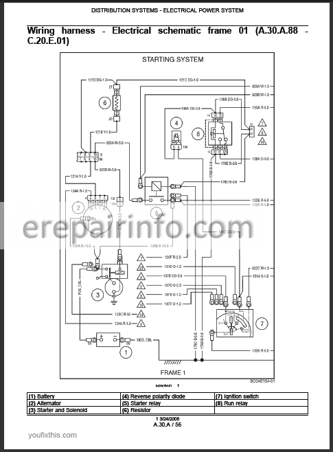 New Holland Lx885 Wiring Diagram