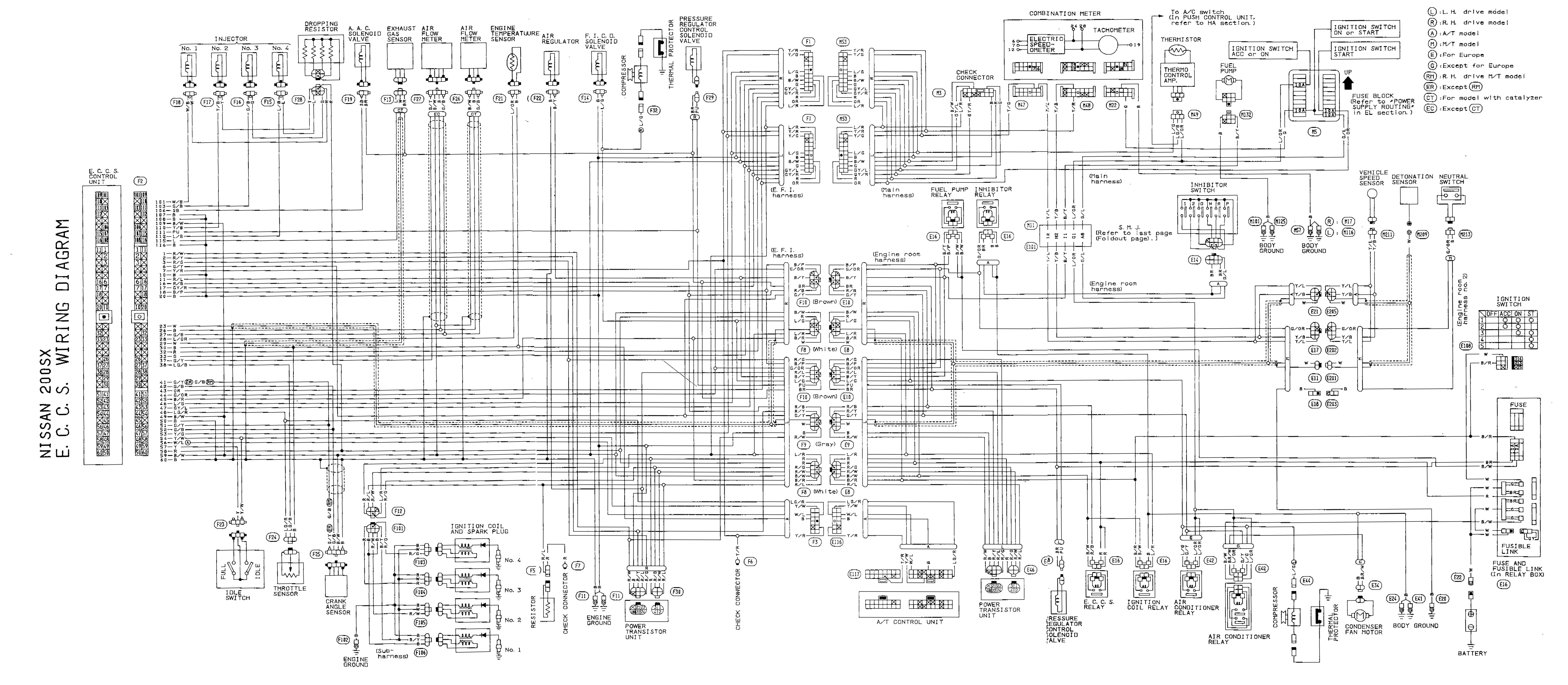 Awe Inspiring Sr20 Wiring Diagram Basic Electronics Wiring Diagram Wiring Cloud Licukosporaidewilluminateatxorg