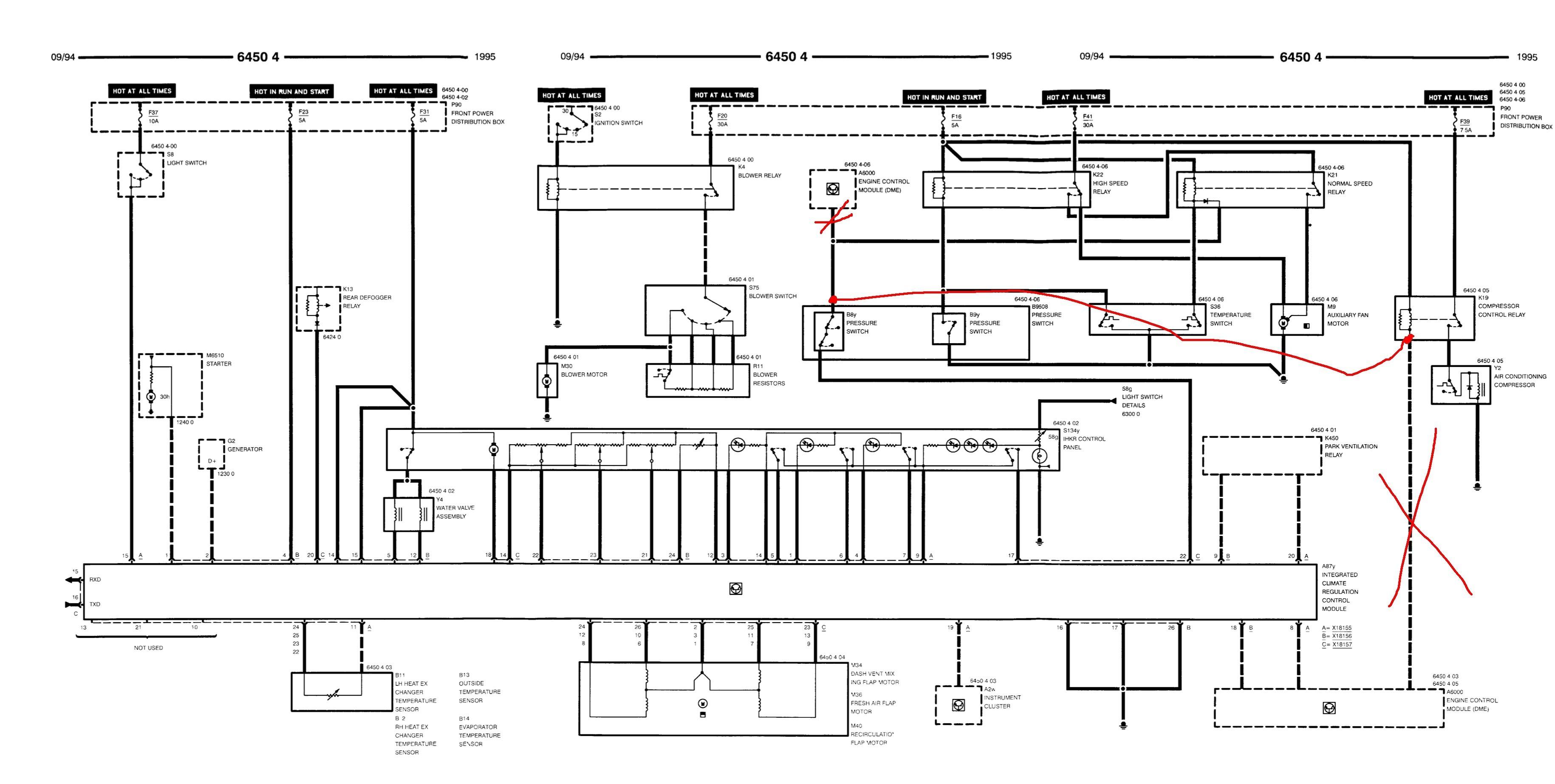 Brilliant Bmw E36 Heater Control Wiring Diagram Wiring Diagram Database Wiring Cloud Faunaidewilluminateatxorg