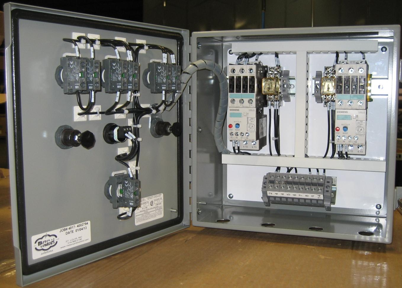 Fine Custom Pump Control Panel Experts State Motor Control Solutions Wiring Cloud Faunaidewilluminateatxorg