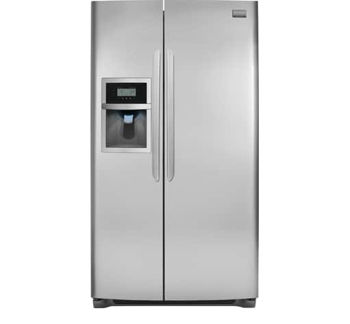 Outstanding Frigidaire Gallery 26 Cu Ft Side By Side Refrigerator Stainless Steel Wiring Cloud Faunaidewilluminateatxorg