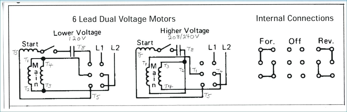 rs7169 motor wiring diagrams also 208 volt single phase