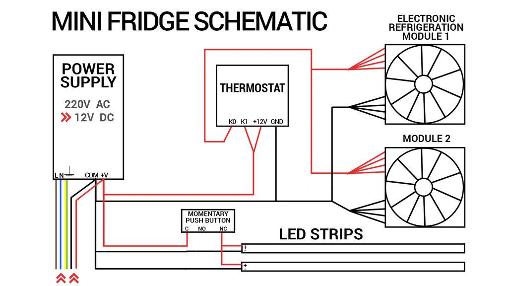 compact refrigerator wiring diagram  pietrodavicoit diode