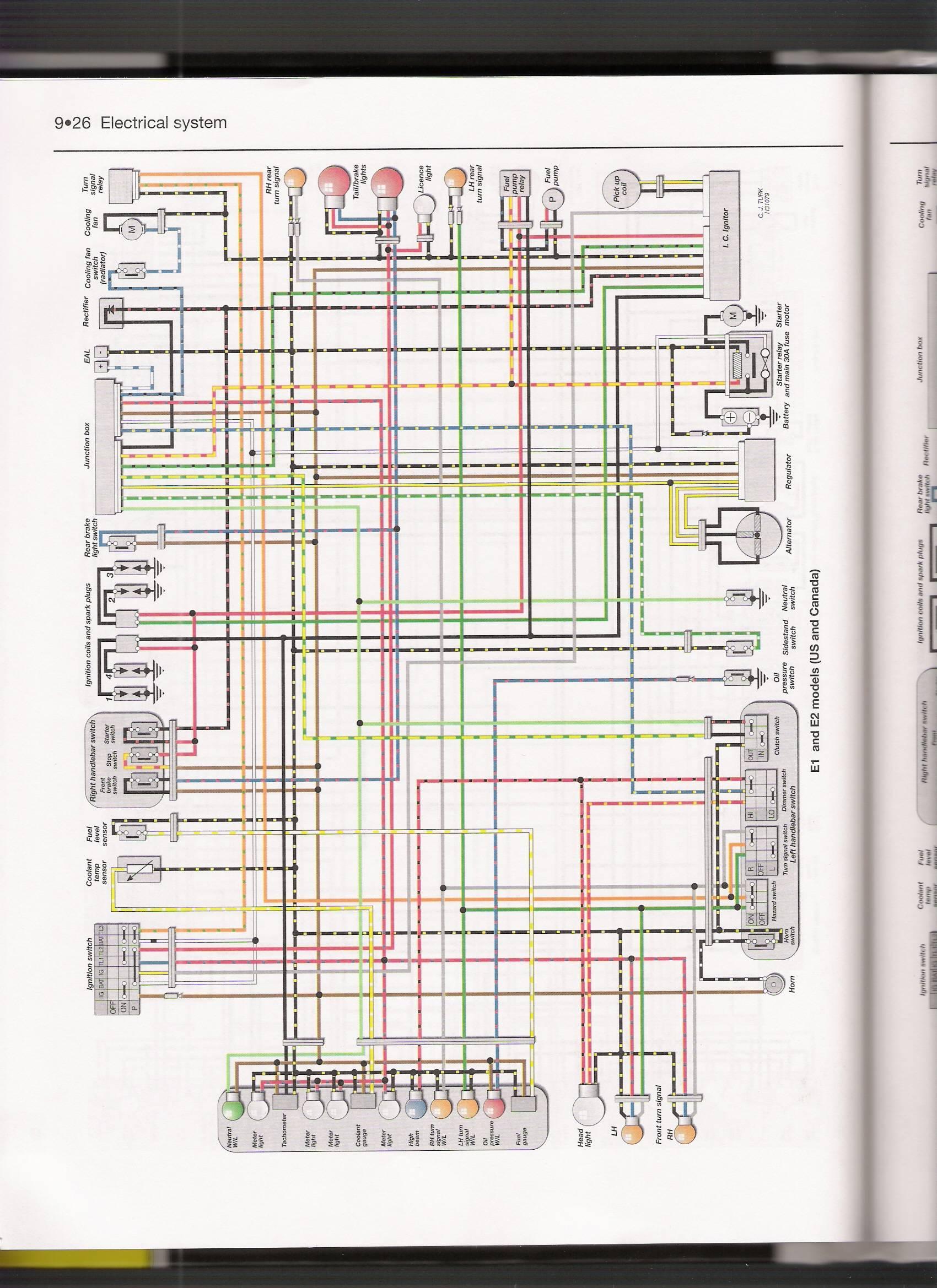2006 Kawasaki Ninja 650r Wiring Diagram