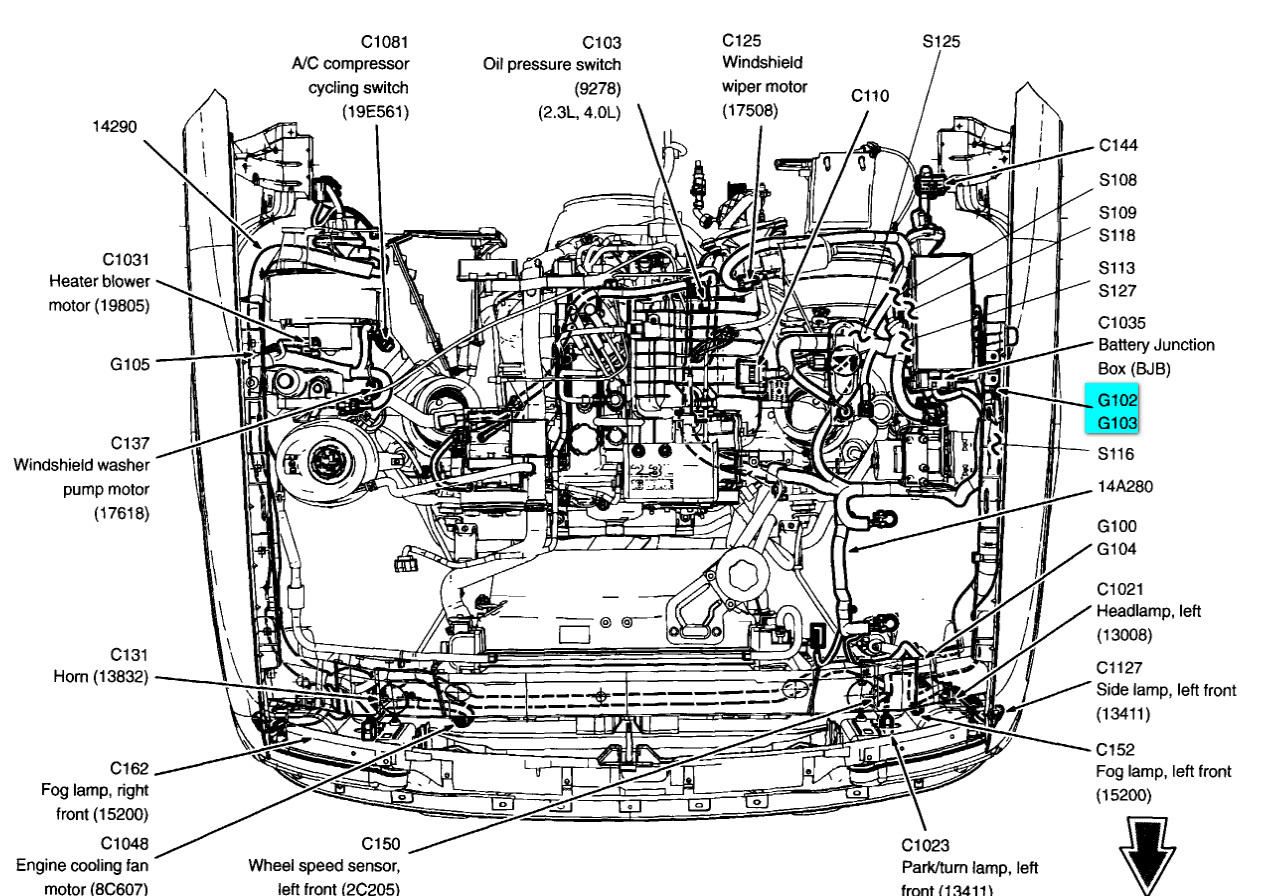 Stupendous 94 Ford Ranger 4 0 Wiring Diagram Basic Electronics Wiring Diagram Wiring Cloud Mousmenurrecoveryedborg