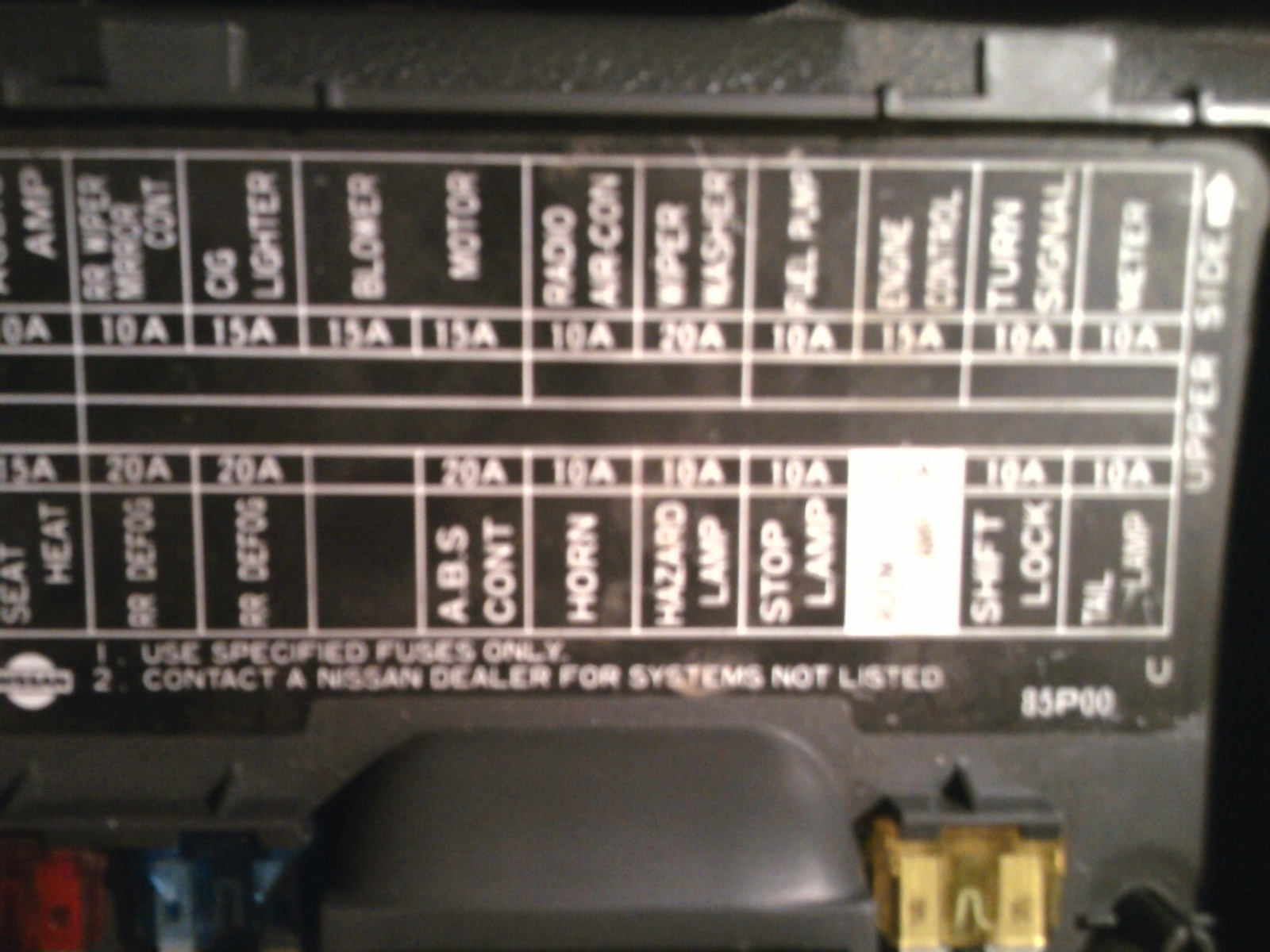 Enjoyable Nissan Hardbody Fuse Box Wiring Diagram Wiring Cloud Ittabisraaidewilluminateatxorg