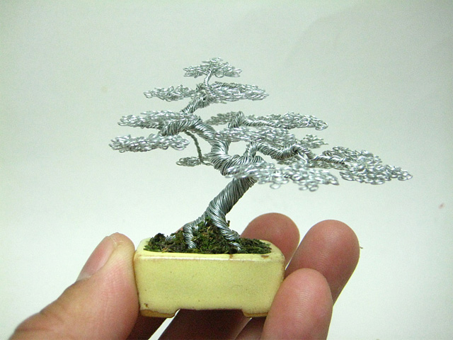 Admirable Miniature Wire Bonsai Trees By Ken To Colossal Wiring Cloud Licukosporaidewilluminateatxorg