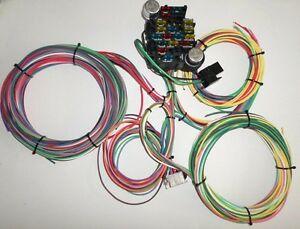 Magnificent 21 Circuit Ez Wiring Harness Chevy Mopar Ford Hotrods Universal X Wiring Cloud Waroletkolfr09Org