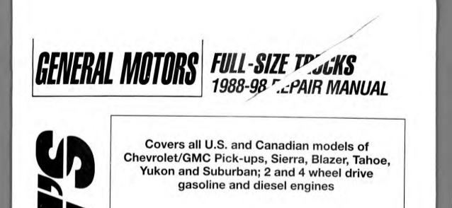 Groovy 1988 Gmc Sierra Service Repair Manual Wiring Cloud Staixaidewilluminateatxorg