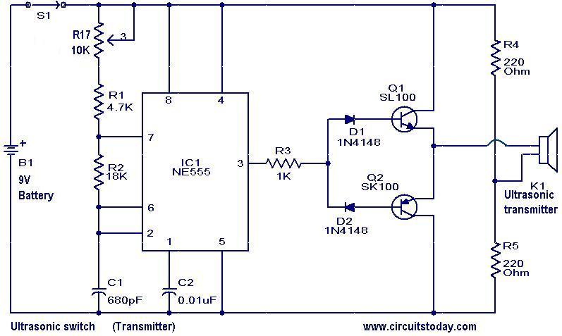 Tremendous Ultrasonic Circuit Diagram Basic Electronics Wiring Diagram Wiring Cloud Onicaalyptbenolwigegmohammedshrineorg