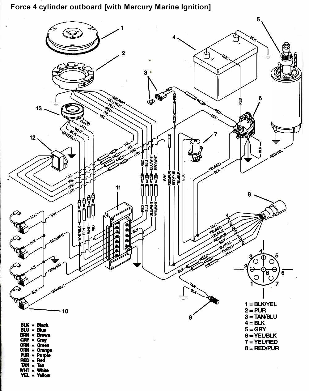 50 mercury wiring harness diagram dy 2101  wiring diagram besides mercury outboard ignition switch  wiring diagram besides mercury outboard