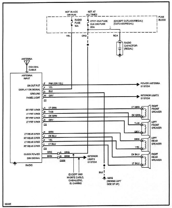 Outstanding Delco Car Radio Wiring Schematic Basic Electronics Wiring Diagram Wiring Cloud Intelaidewilluminateatxorg