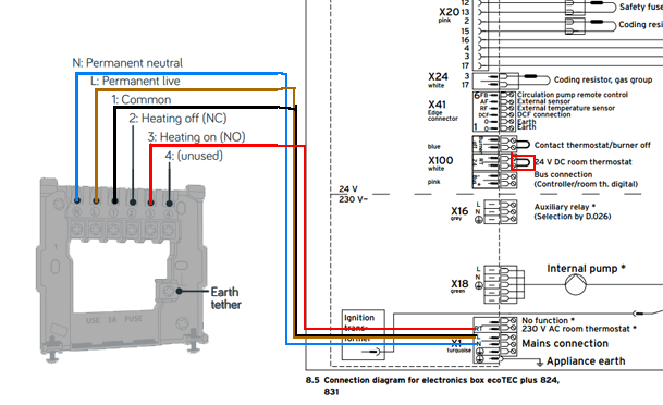 Xg 2264 Wiring A Thermostat To A Vaillant Boiler Download