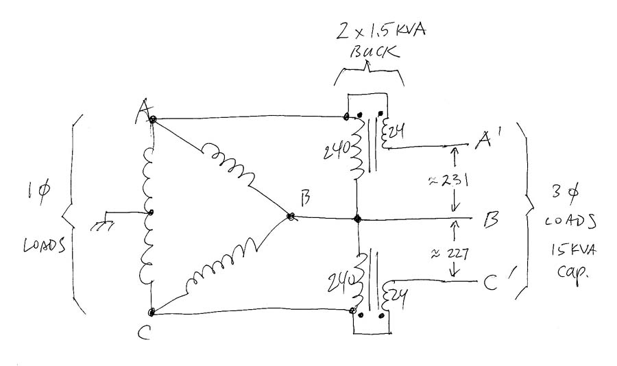 Tk 2737 3 Phase Circuit Diagrams Wiring Diagram