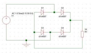 Terrific Full Wave Rectifier Circuit Through Bridge Rectification 5 Steps Wiring Cloud Staixaidewilluminateatxorg