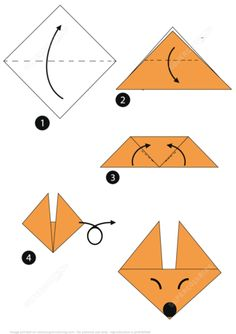 How to make a traditional origami baby swan (cygnet): page 1 | 334x236