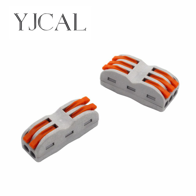 Super Wago Type 10Pcs Electrical Wiring Terminals Household Wire Wiring Cloud Eachirenstrafr09Org