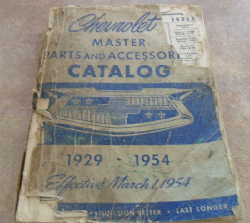 Phenomenal Buy Chevrolet Master Parts And Accessories Catalog 1929 1954 Wiring Cloud Hemtshollocom
