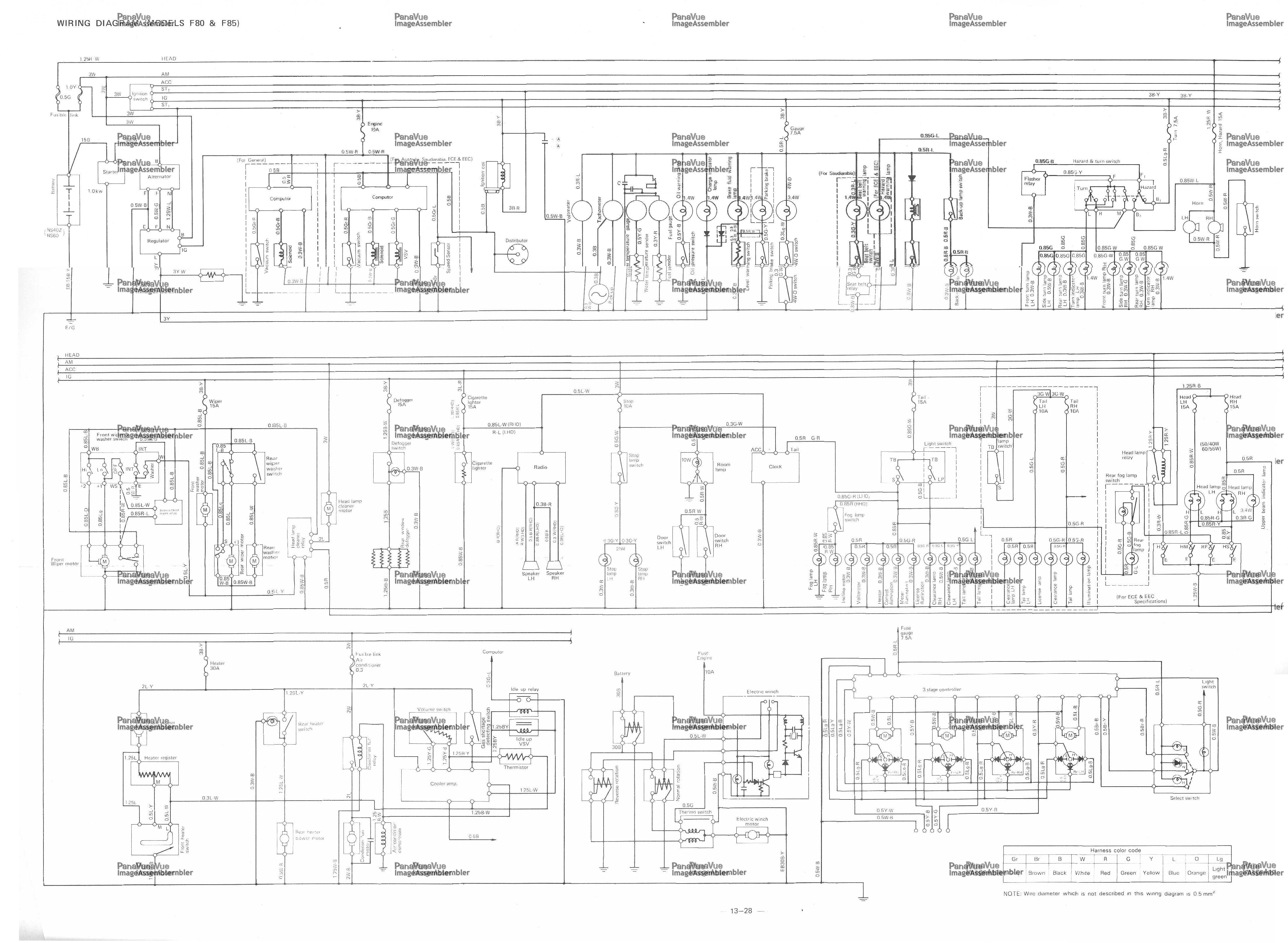 Wiring Diagram Daihatsu Charade G11 Kustom Amp Schematic Doorchime Kdx 200 Jeanjaures37 Fr