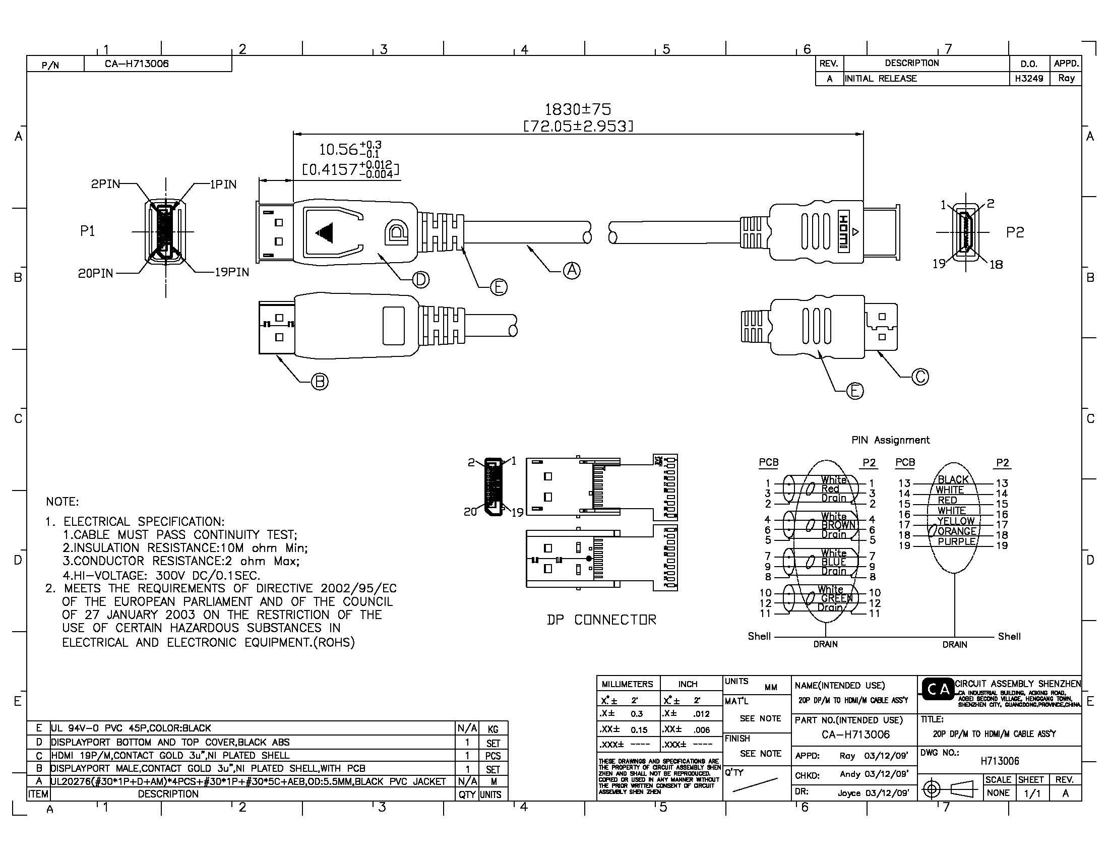 hdmi electrical wire diagram hk 9431  displayport connector wiring displayport circuit diagrams  hk 9431  displayport connector wiring