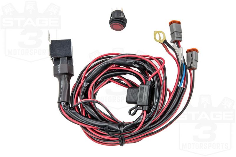 """10/"""" ~ 40/"""" Light Bar 40193 Rigid Industries Wire Harness"""