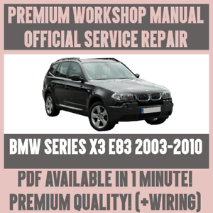 Wondrous Workshop Manual Service Repair Guide For Bmw X3 E83 2003 2010 Wiring Cloud Licukosporaidewilluminateatxorg