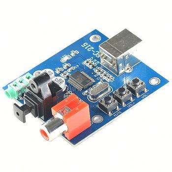 Pleasant Pcm2704 Usb Dac To S Pdif Sound Card Decoder Board 3 5Mm Analog Wiring Cloud Faunaidewilluminateatxorg