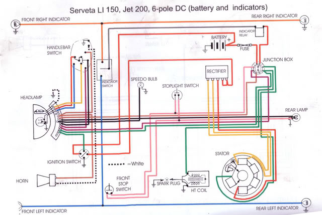 Terrific Lambretta Wiring Diagram Basic Electronics Wiring Diagram Wiring Cloud Rometaidewilluminateatxorg
