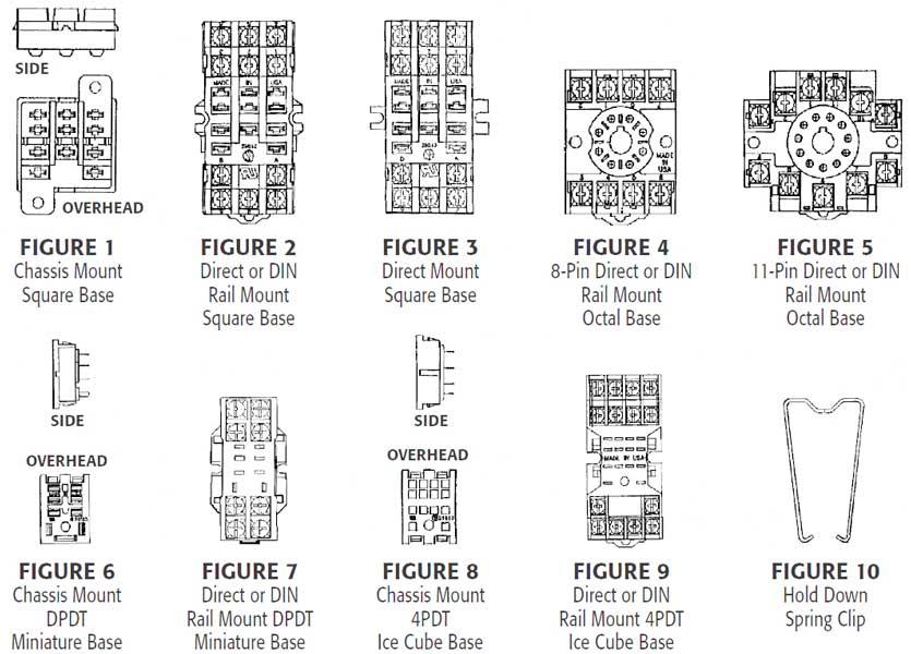 8 Pin Relay Socket Wiring Diagram