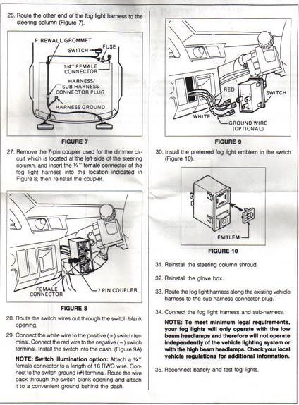 zl4111 crx fog light wiring diagram wiring diagram