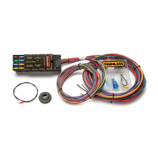Marvelous Painless Wiring 50001 10 Circuit Race Only Chassis Harness Wiring Cloud Ostrrenstrafr09Org