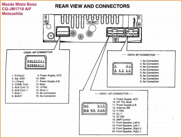 pioneer deh 1500 wiring diagram  fuse box location on a