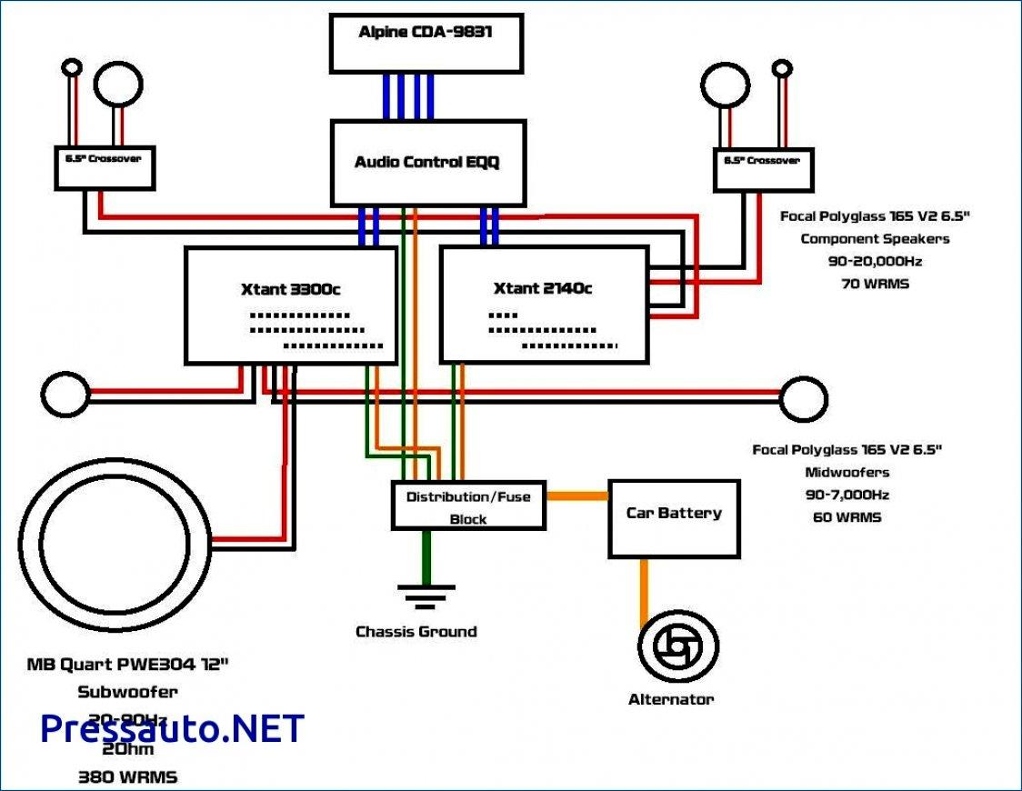 Rockford Fosgate Amplifier Wiring Diagram