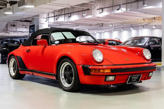 Swell Pre Owned 1989 Porsche 911 Carrera Speedster Convertible In New York Wiring Cloud Hisonepsysticxongrecoveryedborg