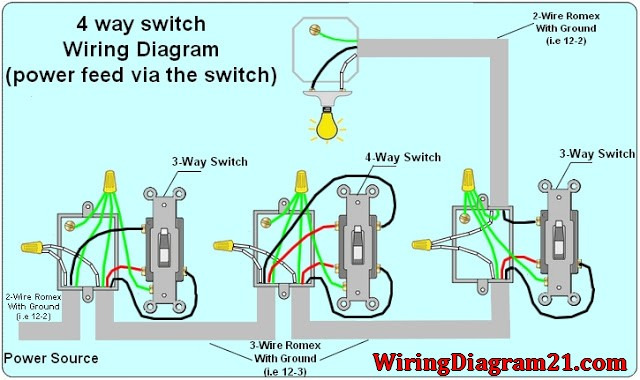 4 way switch wiring diagram with dimmer mz 6551  four way switch wiring download diagram  four way switch wiring download diagram
