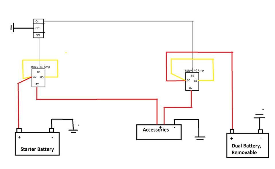 Ka 8729  Narva 12v Relay Wiring Free Diagram