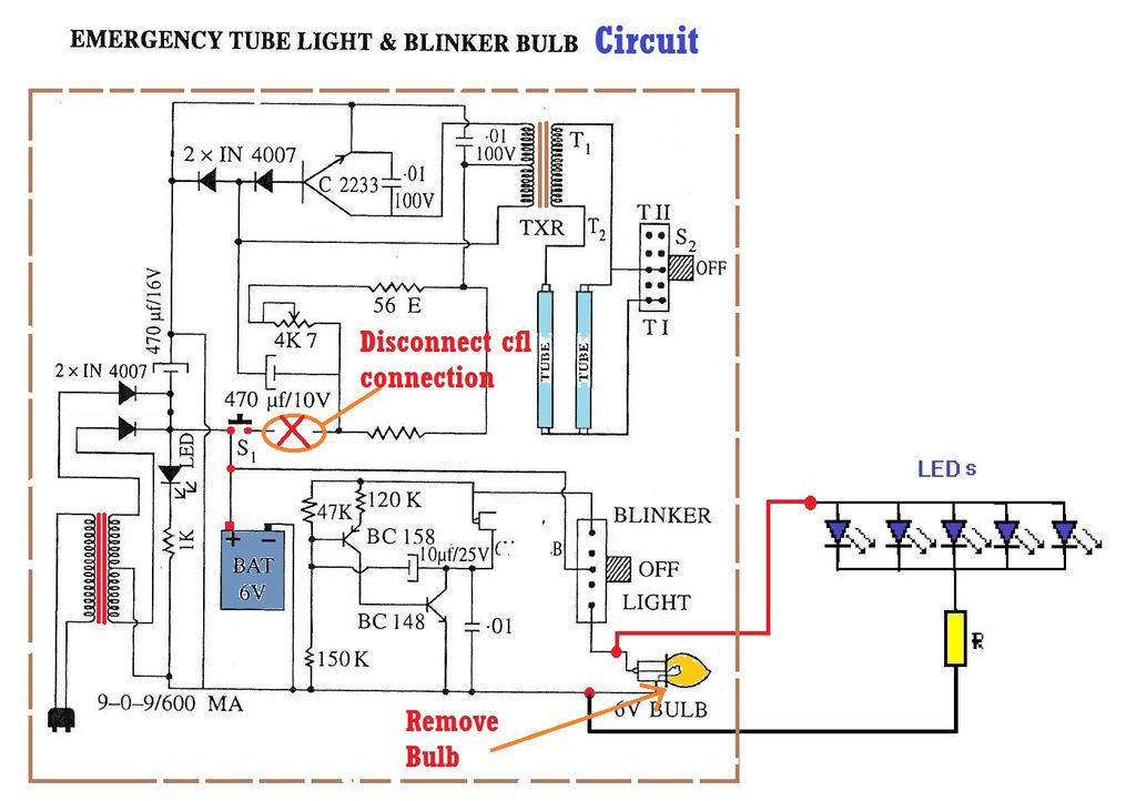 Wondrous Emergency Light Wiring Diagram Basic Electronics Wiring Diagram Wiring Cloud Mousmenurrecoveryedborg