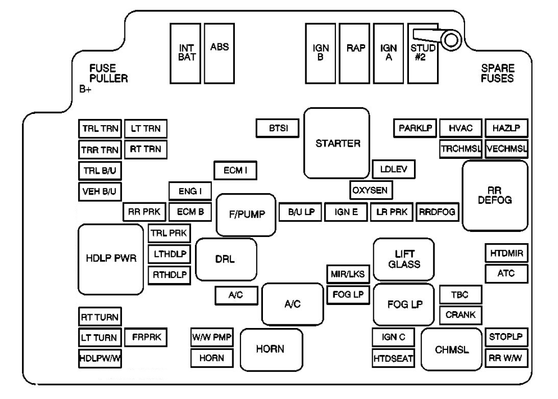 Ev 2603  Fuse Box Diagram On Genuine Ford Galaxy Mk2 Fuse