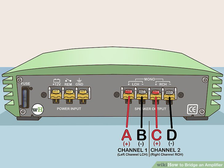 Super How To Bridge An Amplifier 7 Steps With Pictures Wikihow Wiring Cloud Licukosporaidewilluminateatxorg