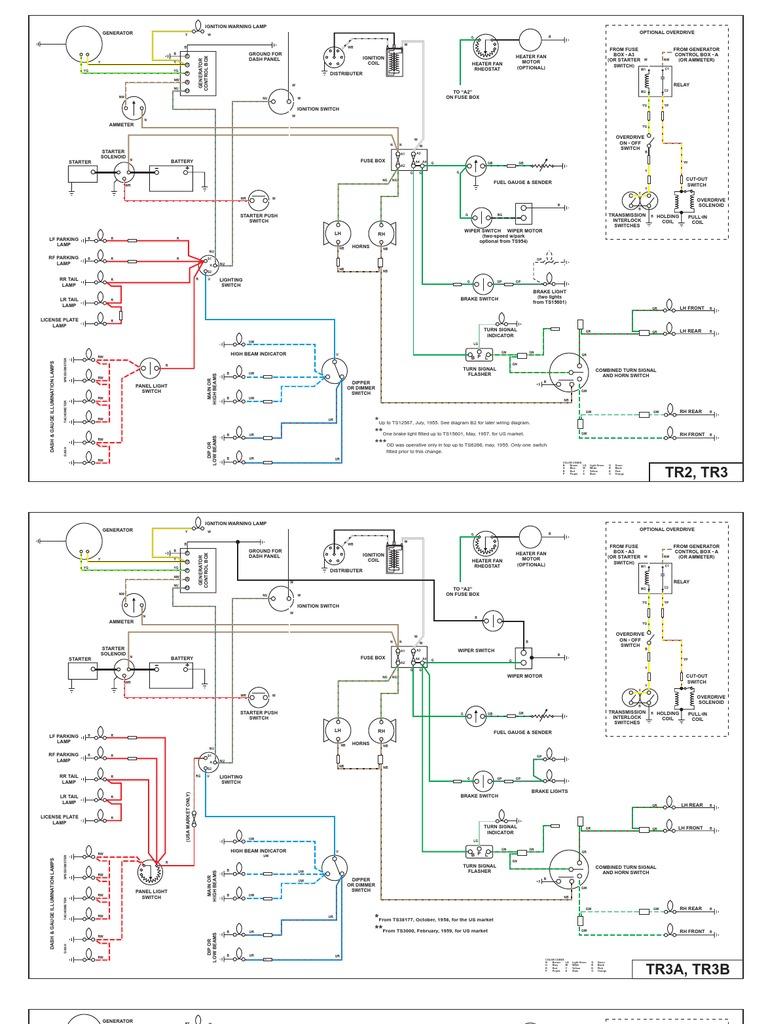 Triumph Tr3a Wiring Diagram Hyundai