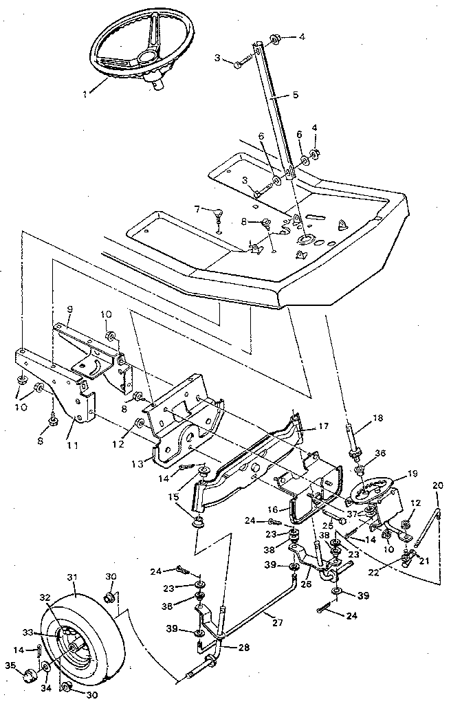 Xy 1132 Murray Riding Mower Parts Diagram Pictures Wiring Diagram