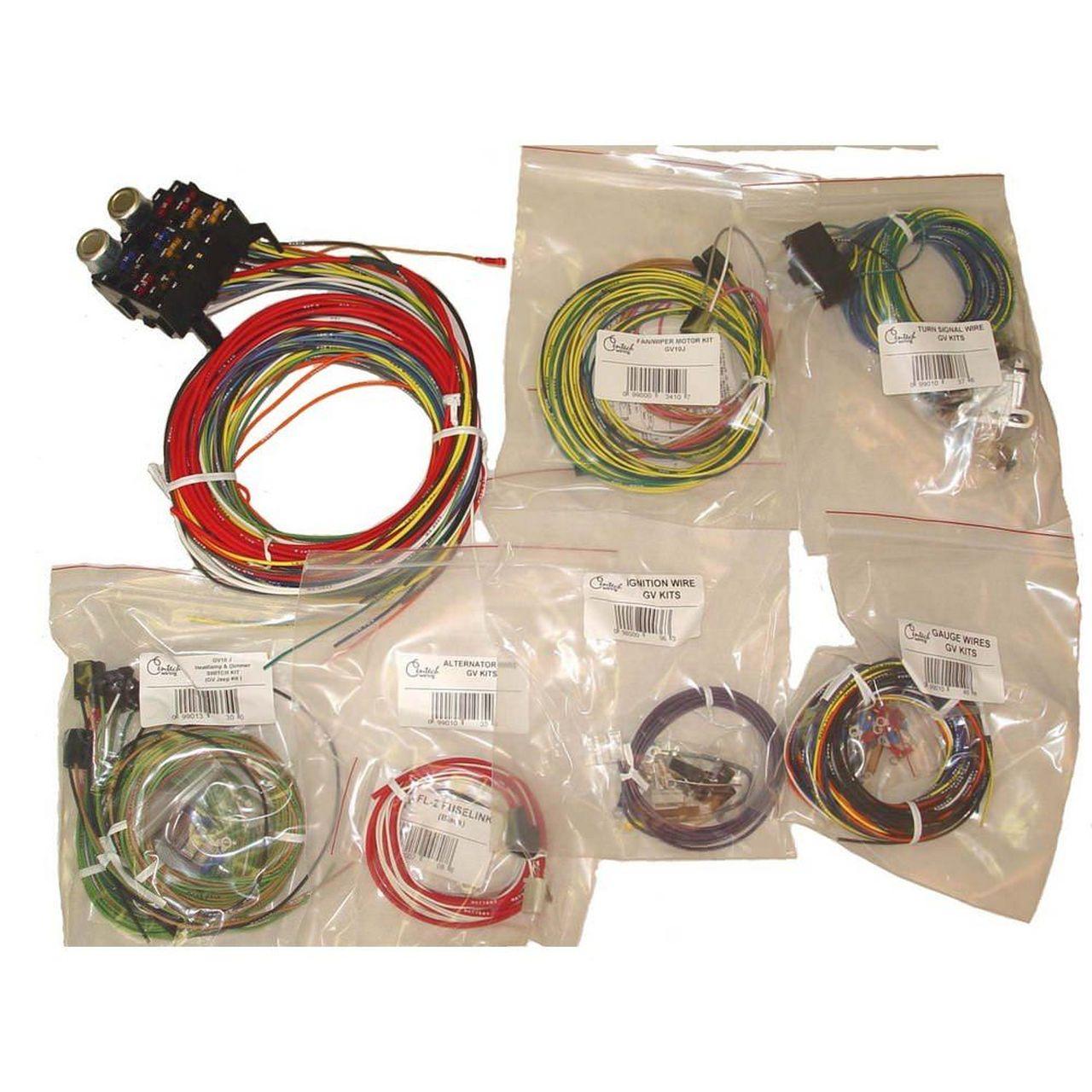 Fabulous Omix Ada 17203 01 Centech Wiring Harness 55 86 Jeep Cj Wiring Cloud Vieworaidewilluminateatxorg