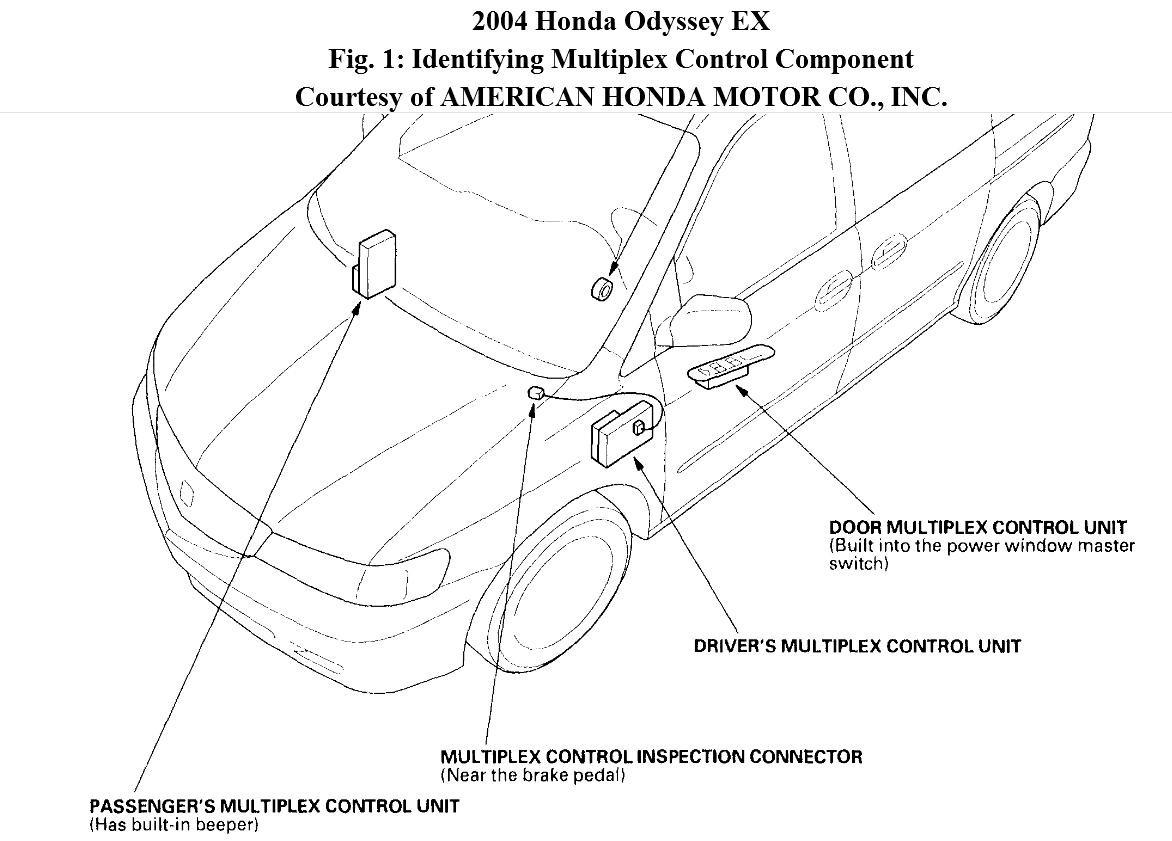 Vt 3511  Honda Odyssey Starter Wiring Download Diagram