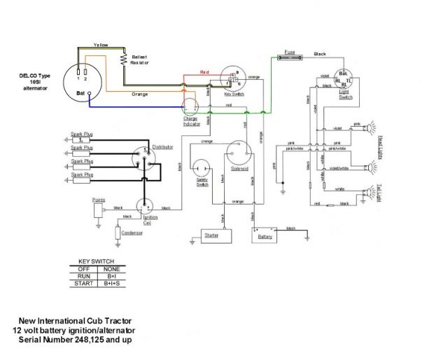 Wiring Diagram For 1948 Farmall Cub