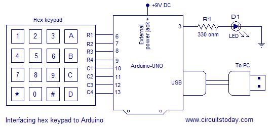Pleasing Digital Code Lock Using Arduino Circuit Diagram Program And Theory Wiring Cloud Vieworaidewilluminateatxorg